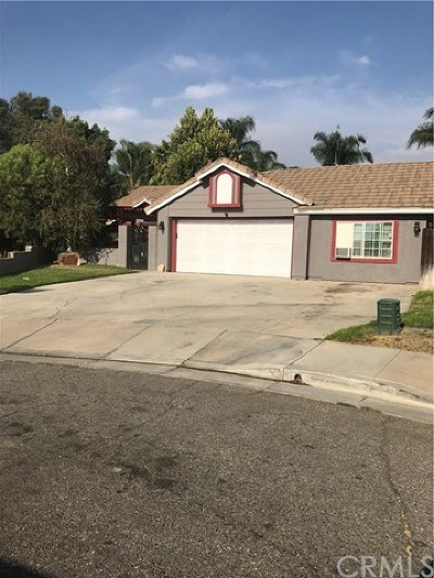 San Jacinto Single Family Home For Sale: 1675 Napa Court