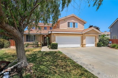 Murrieta Single Family Home For Sale: 24590 Corte Descanso