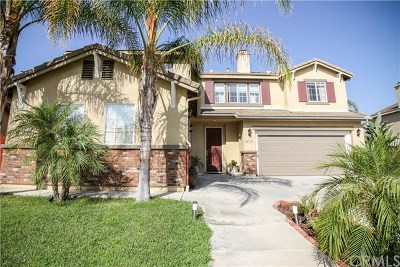 Murrieta Single Family Home For Sale: 26196 Palm Tree Lane