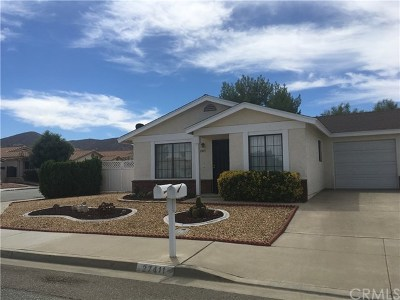 Menifee Single Family Home For Sale: 27411 Hacienda Drive