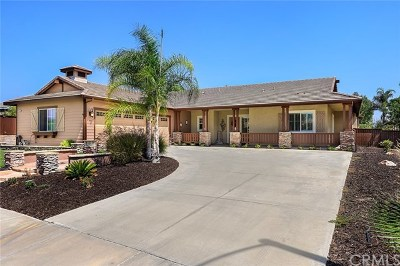 Murrieta Single Family Home For Sale: 23934 Timothy Avenue