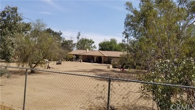 Perris Single Family Home For Sale: 20885 Scheesley Street