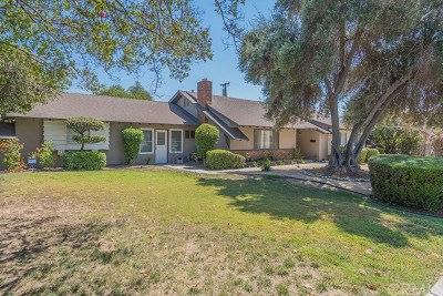 Pomona Single Family Home For Sale: 2286 N Orange Grove Avenue