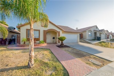 Perris Single Family Home For Sale: 311 Morning Sky Drive
