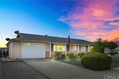 Menifee Single Family Home For Sale: 26071 Kitt Ansett Drive