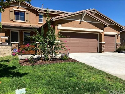 Wildomar Single Family Home For Sale: 32455 Oak Hollow Court