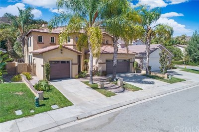 Murrieta Single Family Home For Sale: 26835 Lemon Grass Way