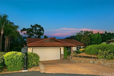 Escondido Single Family Home For Sale: 9665 Galatea Lane