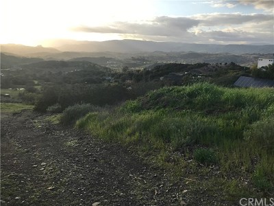Temecula Residential Lots & Land For Sale: Gillespie Court
