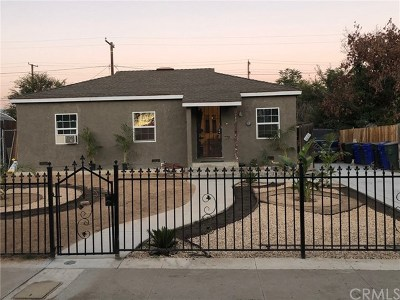 San Bernardino Single Family Home For Sale: 2605 Belle Street