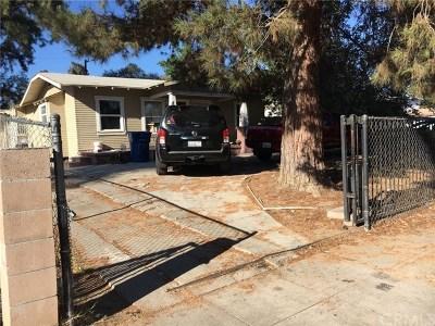San Bernardino Single Family Home For Sale: 754 W 17th Street
