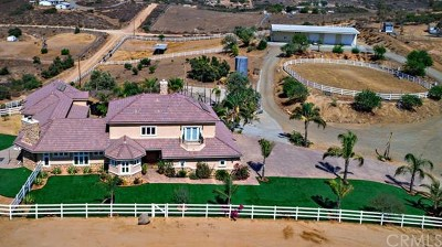 Riverside, Temecula Single Family Home For Sale: 39444 Calle Portillo