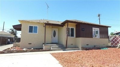 Rialto Single Family Home For Sale: 510 N Yucca Avenue