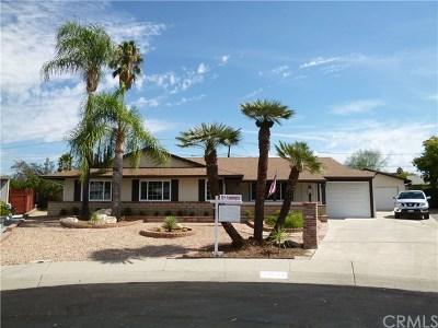 Menifee CA Single Family Home For Sale: $359,000