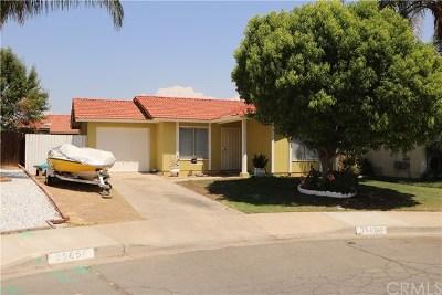 Menifee CA Single Family Home For Sale: $259,999