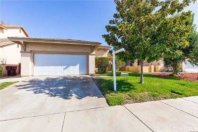 Menifee Single Family Home For Sale: 29680 Camino Cristal