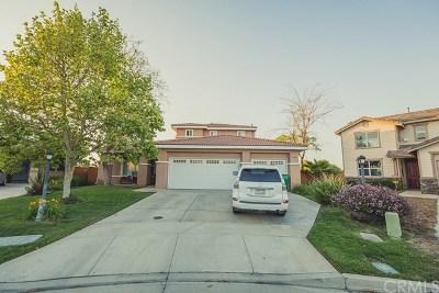 Wildomar Single Family Home For Sale: 33908 Applecart Court