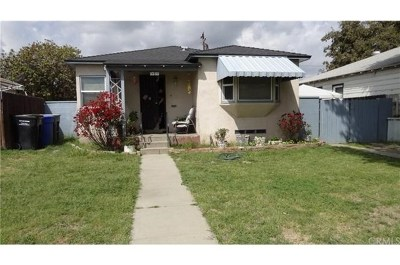 Pomona Single Family Home For Sale: 951 E Monterey Avenue