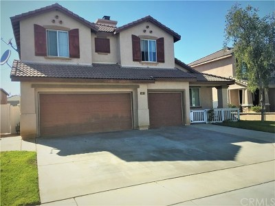 Perris Single Family Home For Sale: 3226 Connors Drive
