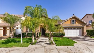 Perris Single Family Home For Sale: 1540 Preston Drive