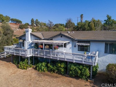 Vista Single Family Home For Sale: 3215 Fairview Drive