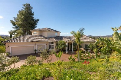 Escondido Single Family Home For Sale: 2401 Haas Street