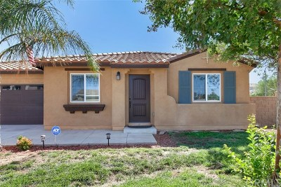Menifee Single Family Home For Sale: 27341 Bramwell Street