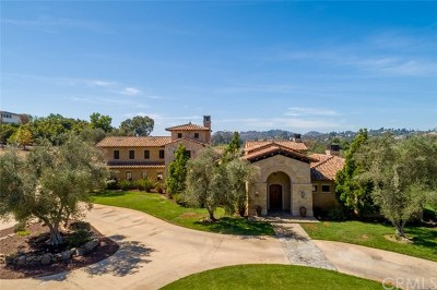 Fallbrook Single Family Home For Sale: 17 Gateview Drive