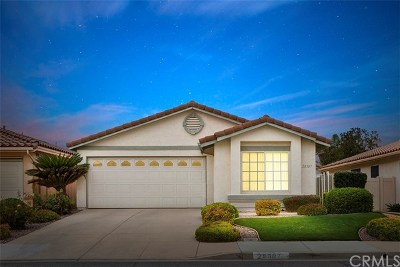 Menifee Single Family Home For Sale: 28307 Via Bandita