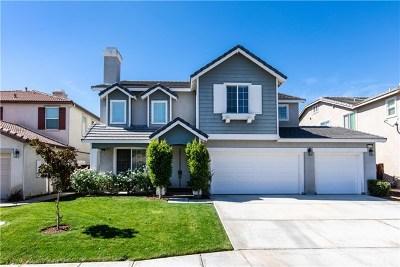 Murrieta Single Family Home For Sale: 24137 Golden Mist Drive