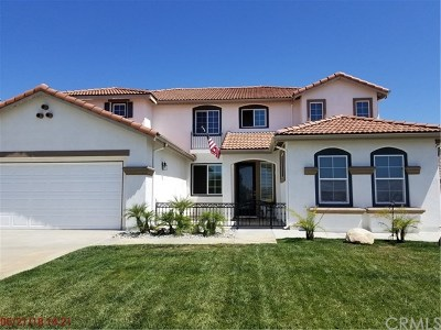 Wildomar Single Family Home For Sale: 25096 Gelding Court