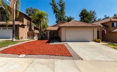 Murrieta Single Family Home For Sale: 39802 Western Jay Way
