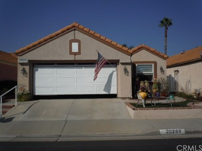 Menifee Single Family Home For Sale: 28200 Palm Villa Drive