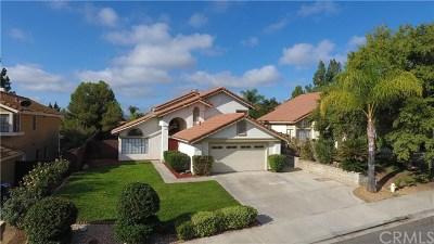 Murrieta Single Family Home For Sale: 24595 Jacarte Drive
