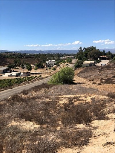Temecula Residential Lots & Land For Sale: Vista Del Monte