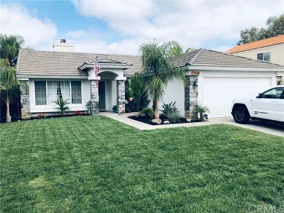 Menifee Single Family Home For Sale: 25668 Pelion Road