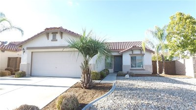 Menifee Single Family Home For Sale: 25046 Wooden Gate Drive
