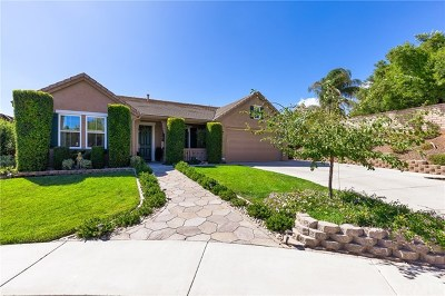 Murrieta Single Family Home For Sale: 41652 Evening Shade Place