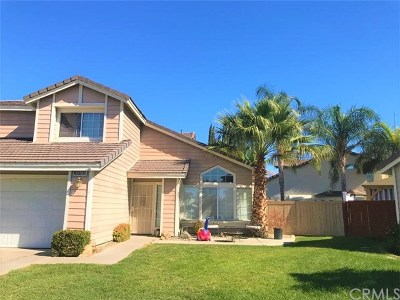 Menifee Single Family Home For Sale: 30588 Meadow Run Place
