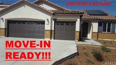 Menifee Single Family Home For Sale: 25510 Kamran Circle