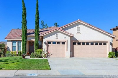 Winchester, French Valley Single Family Home For Sale: 32670 Breton Drive