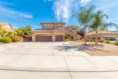 Murrieta Single Family Home For Sale: 41566 Grand View Drive