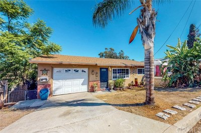 San Diego Single Family Home For Sale: 2957 Morningside Street