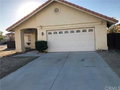 San Jacinto Single Family Home For Sale: 1274 Sierra Seneca Drive