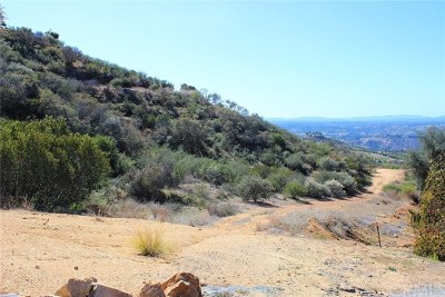Fallbrook Residential Lots & Land For Sale: Mountain Rim Drive