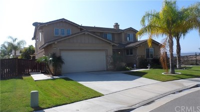 Wildomar Single Family Home For Sale: 25105 Stirrup Drive