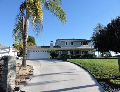 Riverside, Temecula Single Family Home For Sale: 29935 Los Nogales Road