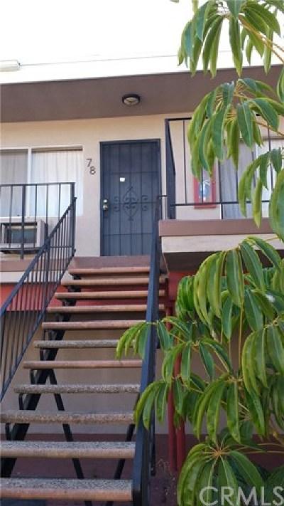 Long Beach Condo/Townhouse For Sale: 5050 Linden Avenue #78