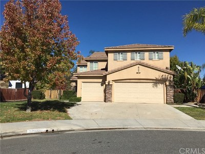 Murrieta Single Family Home For Sale: 27910 Tamrack Way