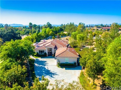 Temecula CA Single Family Home For Sale: $1,149,000